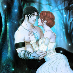 Ysabel and Rowen by SimonPovey