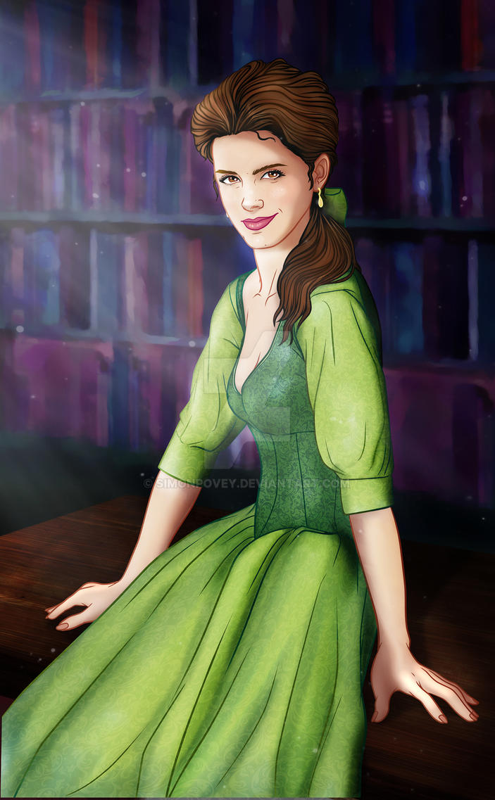Emma Watson is Belle by SimonPovey