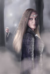 Maiden Of Lothlorien by SimonPovey