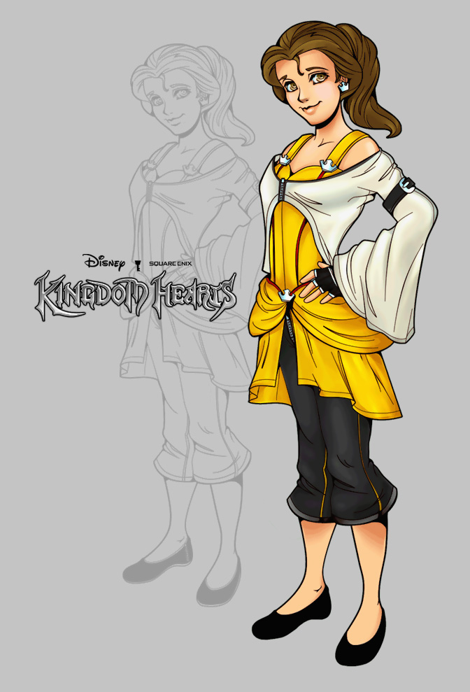 Kingdom Hearts Belle by SimonPovey