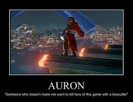 Auron Poster by StainedVenom