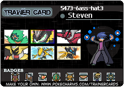 My Pokemon Trainer Card