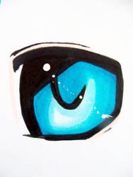 Blue eye by daveschips123