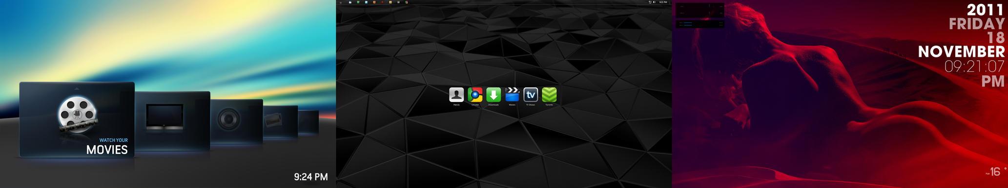 November Desktops 2011 by chalkley3