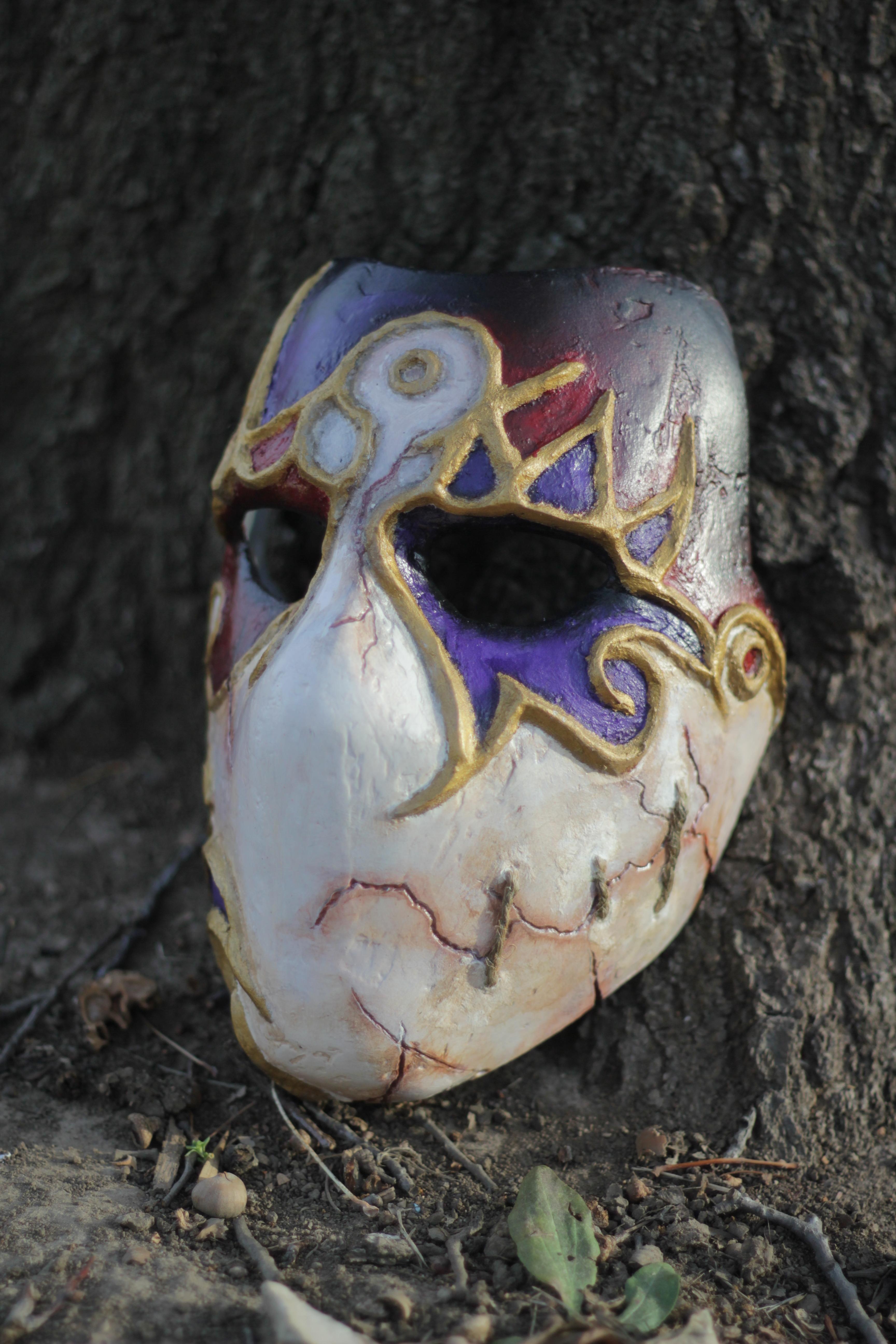 Jack of Blades Mask stitches by nicholasKaighen
