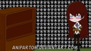 STEINS GATE: Makise Kurisu Wallpaper by Anipartom