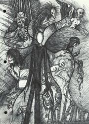Creepy Doodles by KysonKyoko
