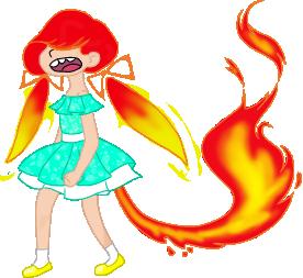 Firegirl by De-La-Shu