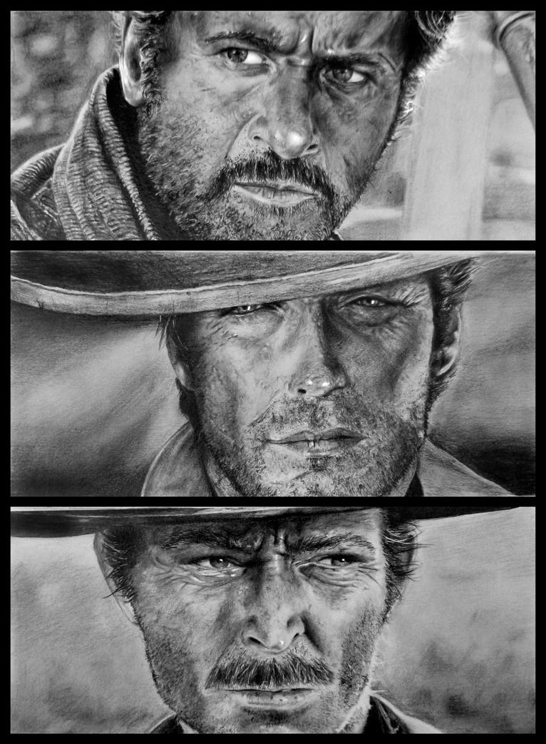 The Good, The Bad and The Ugly by ROMAragorn