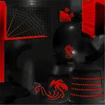 AGR Akatsuki Samurai Helm Texture