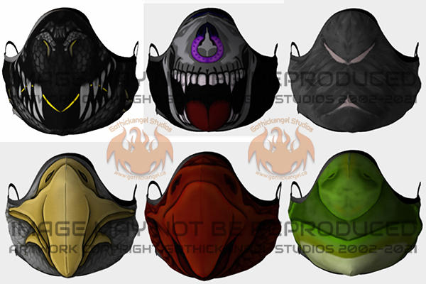 Face Mask Collection Options Set #1