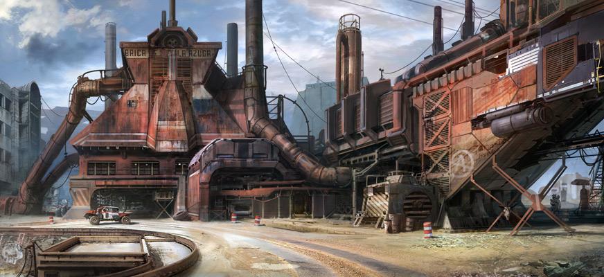 factory by jonone