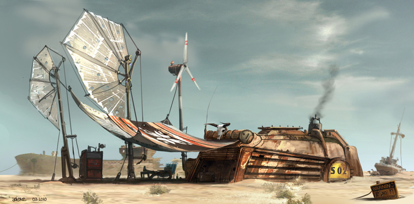 outpost texas by jonone