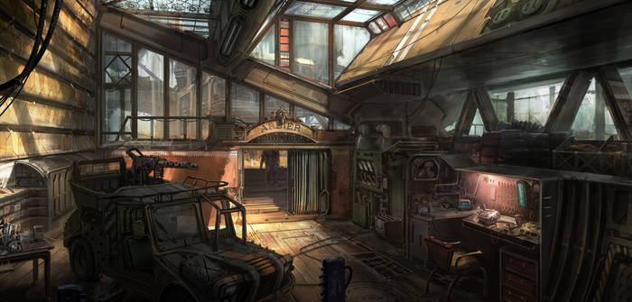 garage by jonone