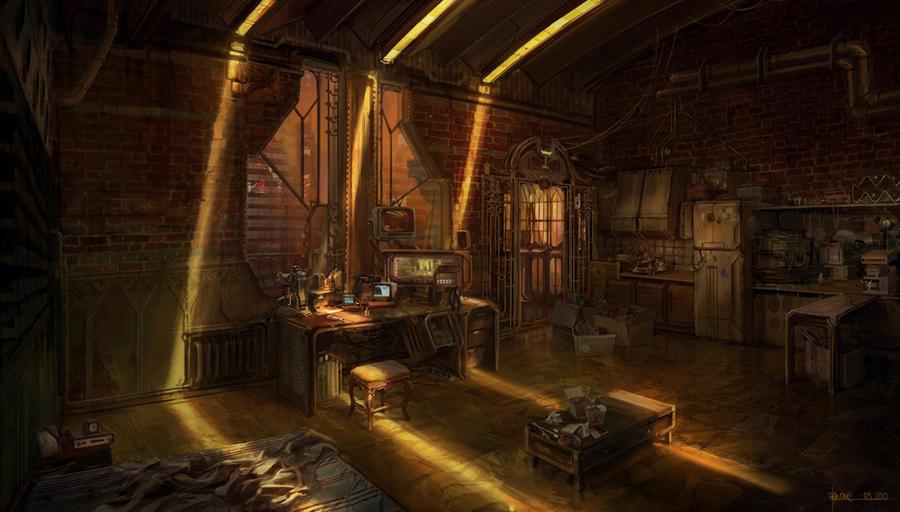 Lich Room By Jonone On Deviantart