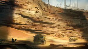 desert by jonone