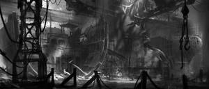 shipyard by jonone