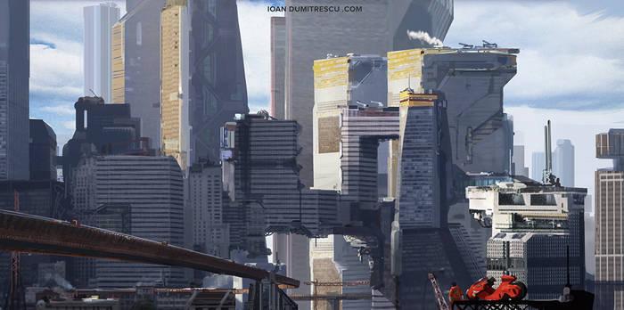 Tower City -akira tribute