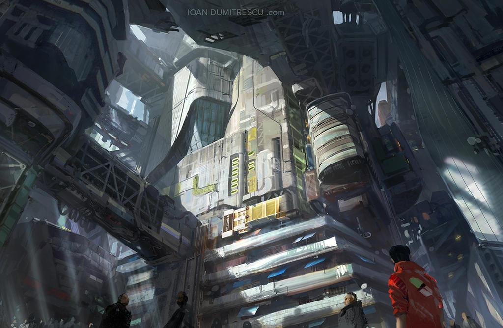 cyber city by jonone