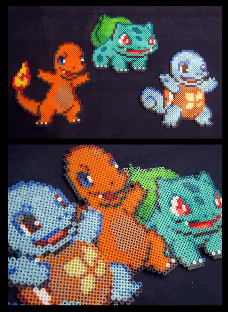 Original Main Trio ::Perler Beads:: by Kin-Karo