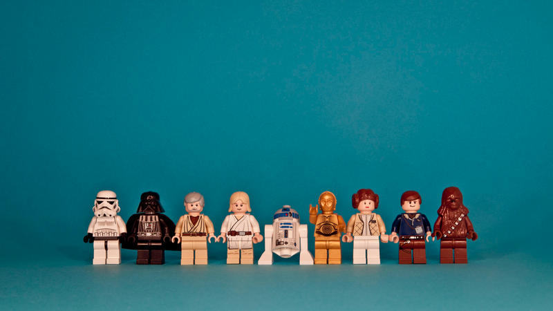 Star wars lego wallpaper by NinjaJohan
