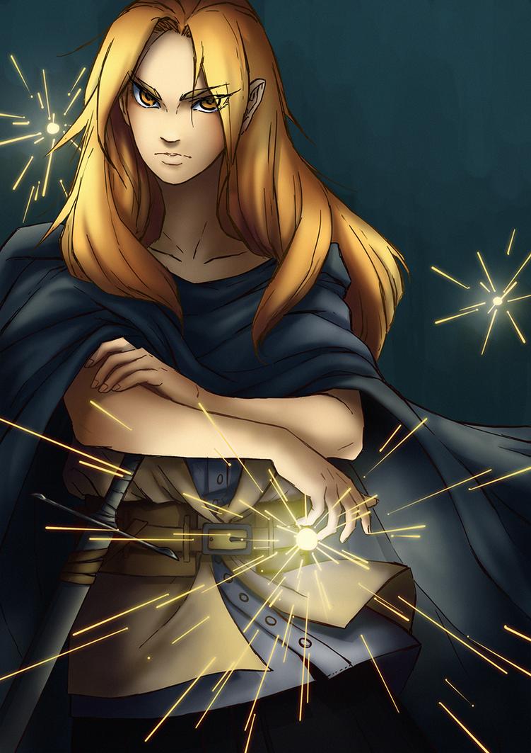 Miss Wizard by tinhan