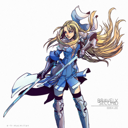 Bravely Second - Edea Lee