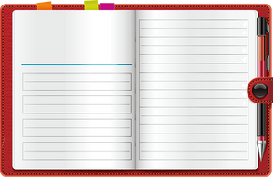 Notebook PNG by HanaBell1