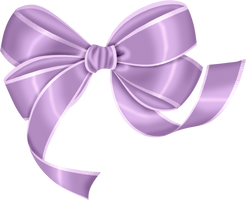 [RES] Purple Bow PNG by HanaBell1