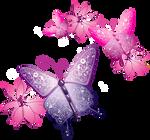 [Res] Decorative Butterflies PNG
