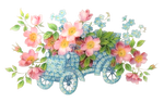[RES] Flowers Car Abstract PNG