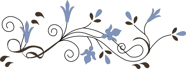 Swirl Frame Png Flower Swirl Png by Hanabell1