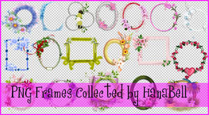 PNG Frames Pack by HanaBell1