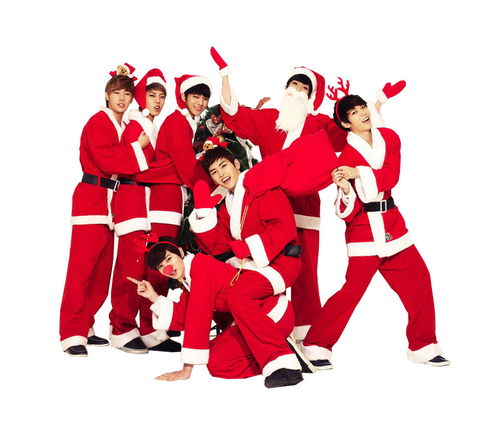 Kpop Christmas Wallpaper Iphone Wallpaper Directory