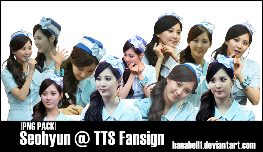[PNG Pack] Seohyun @ TTS Fansign by HanaBell1