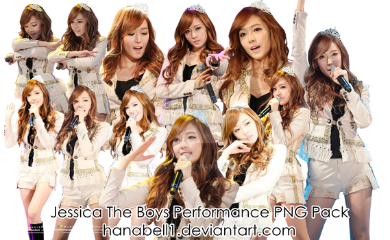 Jessica The Boys Performance PNG Pack