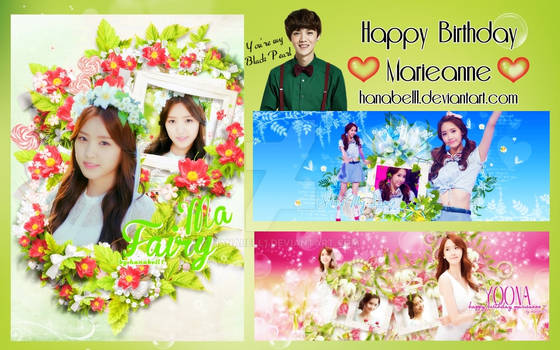 [Pack] Happy Birthday Marieanne