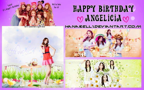 [Pack] Happy Birthday Angelicia