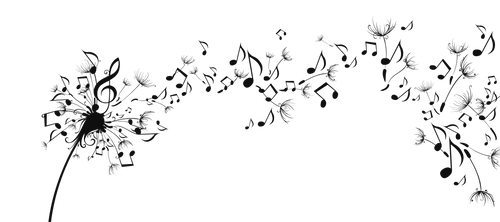 Musical Note In The Breeze PNG