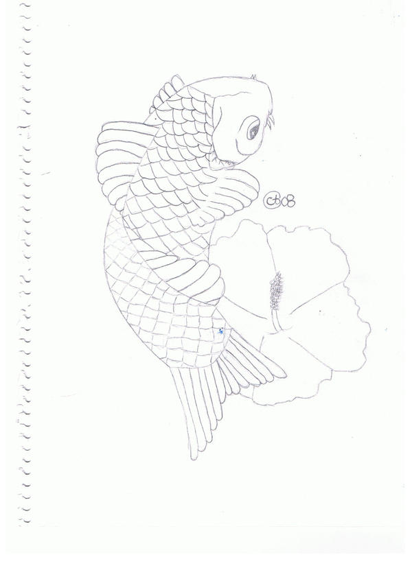 Koi fish original by cyndylouhous on deviantart for Original koi fish