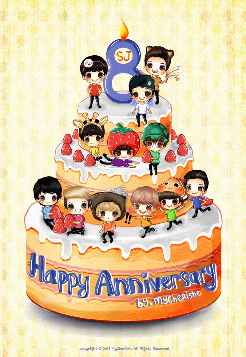 8th Work Anniversary Happy 8th Anniversary by