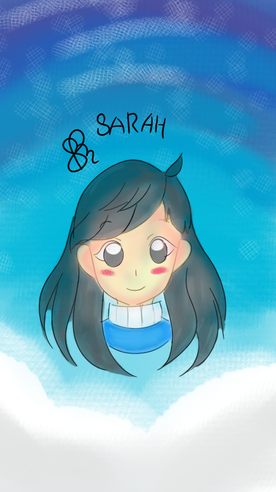 [OC] Sarah's Mini Headshot (Digital) by AfiahSarah27