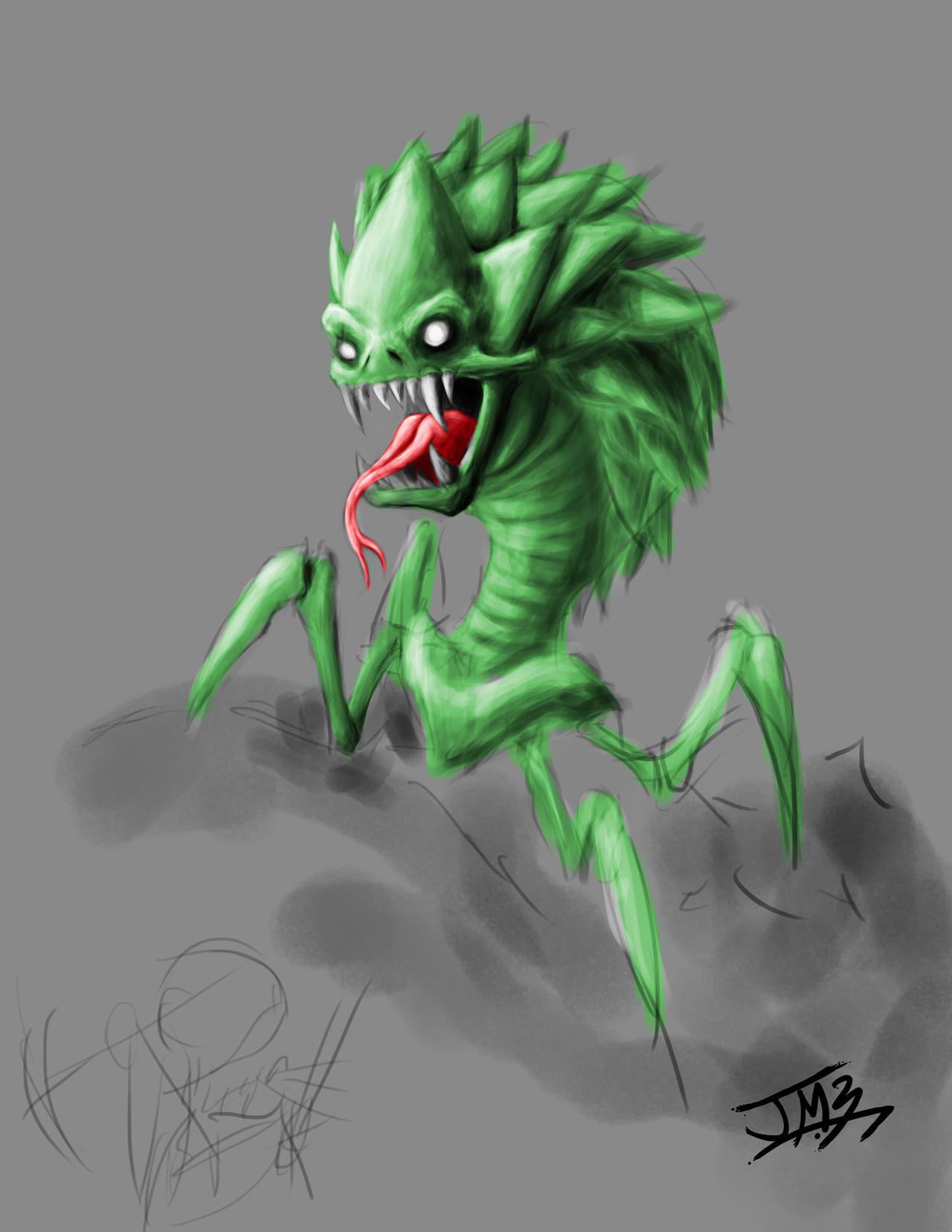 Minecraft Creeper by Myrdah