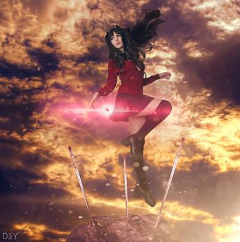 Fate/Stay Night - Rin Tohsaka 3 by KiaraBerry