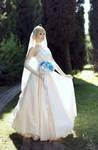 Fate/Stay Night - Saber (wedding dress) by KiaraBerry