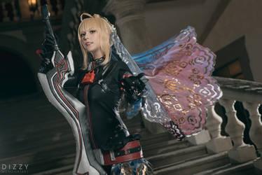 Fate/Grand Order - Saber Nero Bride Alter 3 by KiaraBerry