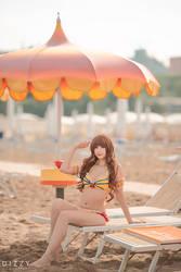 Fate/Extra CCC - Hakuno (Gil bikini) 2 by KiaraBerry