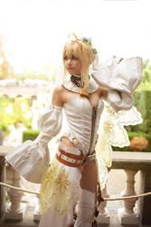 Fate/grand Order - Saber Nero Bride 7 by KiaraBerry