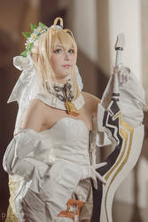 Fate/grand Order - Saber Nero Bride 8 by KiaraBerry