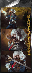 Touken Ranbu - Nakigitsune 5 by KiaraBerry
